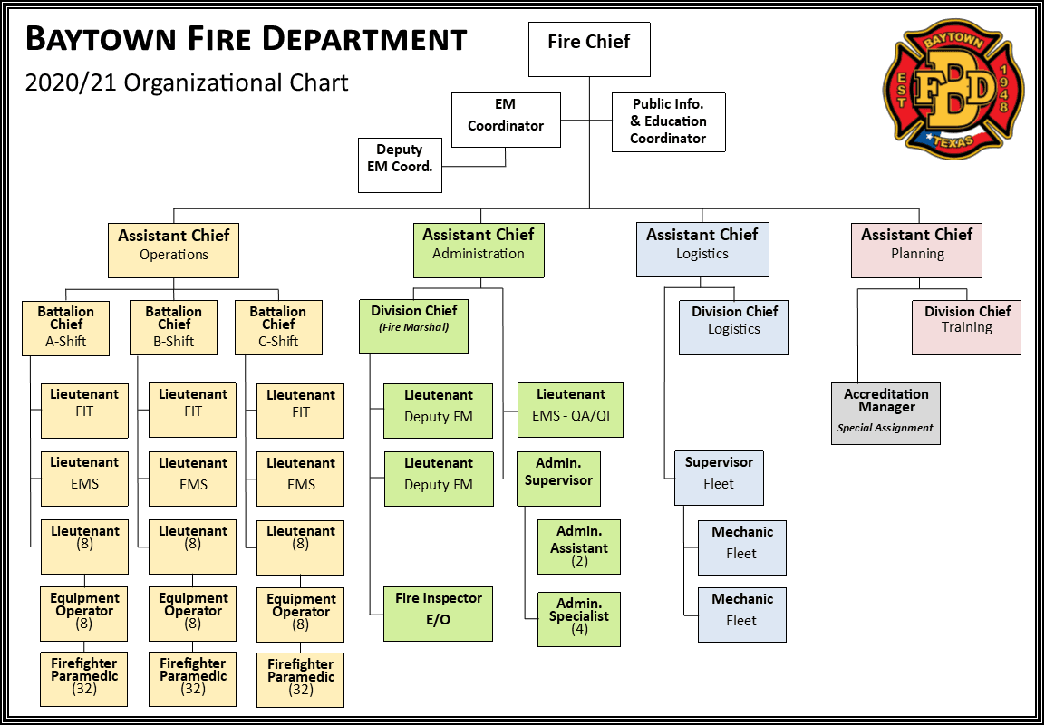 BFD Org Chart 2020